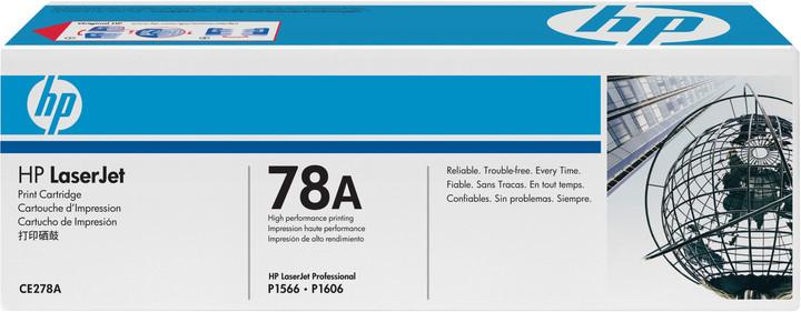HP CE278A, černý