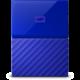 WD My Passport - 2TB, modrá