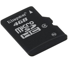 Kingston Micro SDHC 4GB Class 4 - SDC4/4GBSP