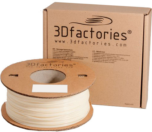 3D Factories tisková struna ABS natur 1,75 mm 1 Kg