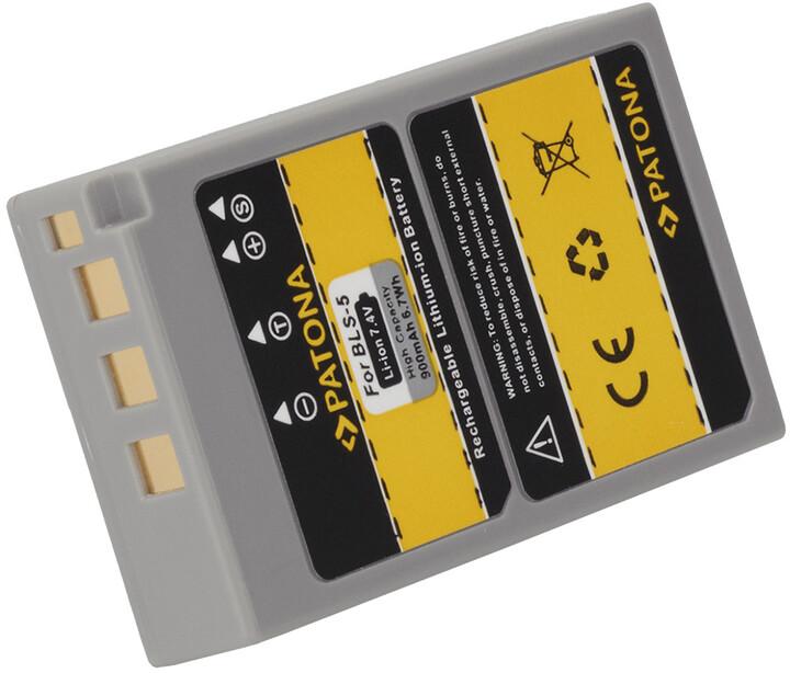 Patona baterie pro Olympus BLS5 900mAh Li-Ion