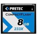 Pretec CompactFlash Cheetah 233X   8GB