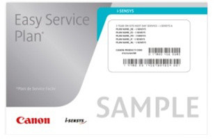 Canon záruka Easy Service Plan 3R on-site NBD - Cat.C pro i-SENSYS