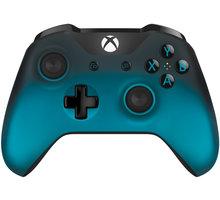 Microsoft Xbox ONE S Gamepad, bezdrátový, černo sivá (XONE S) - WL3-00040