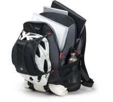 """DICOTA Backpack Ride 15,6"""", černá - D31046 + Zdarma Powerbank OMEGA 2200mAh, microUSB, mini, černo/zelená (v ceně 169,-)"""