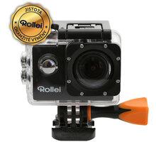 Rollei Action Cam 333, černá - 40293 + Rollei ActionCam Case, oranžová v ceně 790 Kč