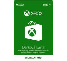 Microsoft Xbox Live dárková karta 1500 Kč (elektronicky) - K4W-00057