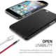 Spigen Thin Fit ochranný kryt pro iPhone 6/6s, black