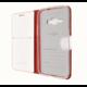FIXED FIT pouzdro typu kniha pro Samsung Galaxy J1 (2016), bílá