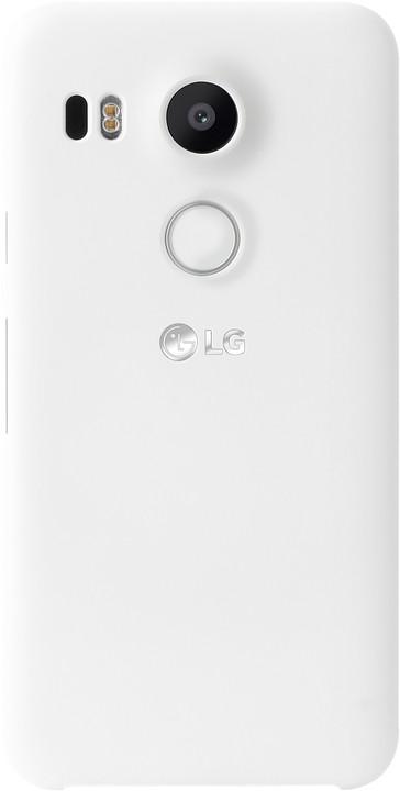 LG zadní ochranný kryt CSV-140 pro LG Nexus 5X, bílá