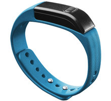 CellularLine EASYFIT bluetooth fitness náramek , modro-černá - BTEASYFITB