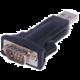 PremiumCord převodník USB2.0 na RS232, krátký