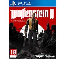 Wolfenstein II: The New Colossus (PS4) + Podtácky Wolfenstein II: The New Colossus