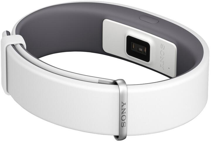 Sony SWR12 SmartBand Activity Monitor, bílá