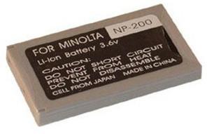 Patona baterie pro Minolta NP-200 650mAh