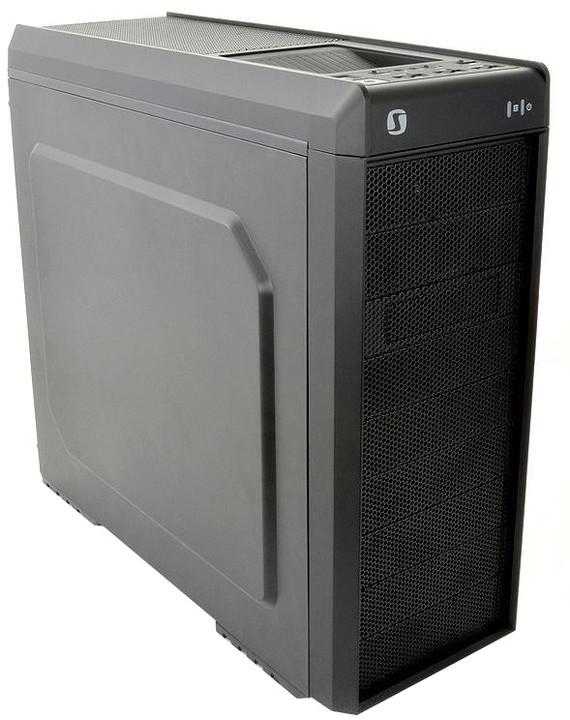SilentiumPC Gladius M40, černá