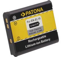 Patona baterie pro Nikon Enel19 600mAh - PT1090