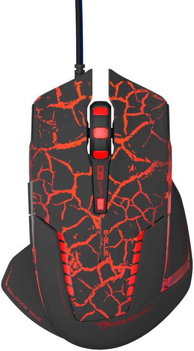 E-Blue Mazer Pro, černá/červená