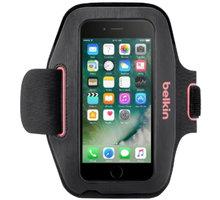 Belkin sportovní pouzdro SportFit pro iPhone 7, růžové - F8W781btC01