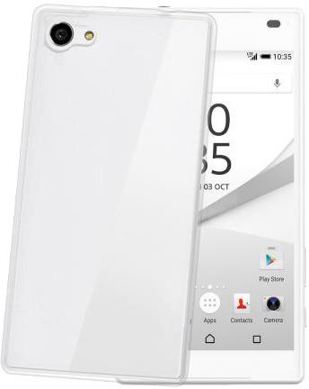CELLY pouzdro Gelskin pro Sony Xperia Z5 Compact, bezbarvé