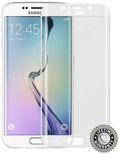 Screenshield ochrana displeje Tempered Glass pro Samsung Galaxy S6 Edge (SM-G925F), stříbrná