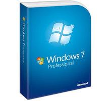 Microsoft Windows 7 Pro CZ 32bit/x64, legalizační verze, GGK - 6PC-00018