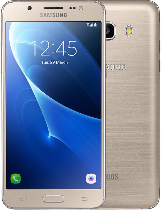 Samsung Galaxy J5 (2016) LTE, zlatá