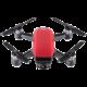 DJI Spark (lava red)  + DJI náhradní vrtule (2ks) pro dron Spark