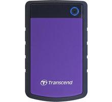Transcend StoreJet 25H3P - 1TB, purpurový - TS1TSJ25H3P