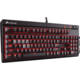 Corsair STRAFE RED LED + Cherry MX RED, CZ