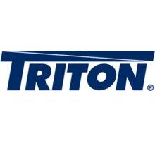 Triton plastová klika RAX-MS-X30-X1, bez zámku