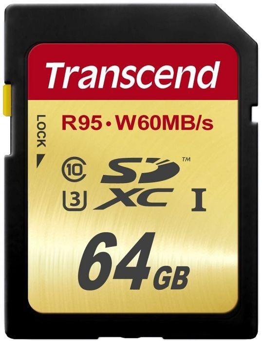 Transcend SDXC 64GB UHS-I U3