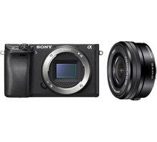 Sony ALPHA 6300, černá + 16-50mm - ILCE6300LB.CEC