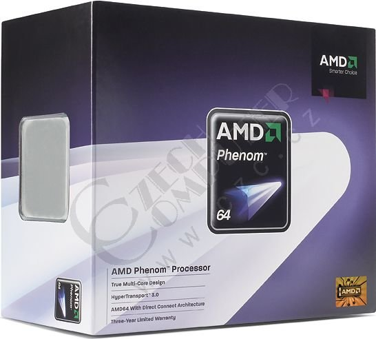 AMD Phenom X3 8450 (HD8450WCGHBOX) BOX