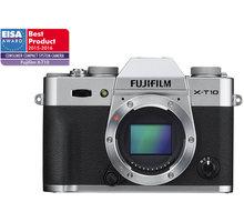 Fujifilm X-T10, tělo, stříbrná - 16470312