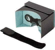 PanoBoard - Brýle na virtuální realitu Click Boost, černo-tyrkysová - PBRD-C01B