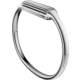 Fitbit Flex 2 náhradní pásek S, stříbrná