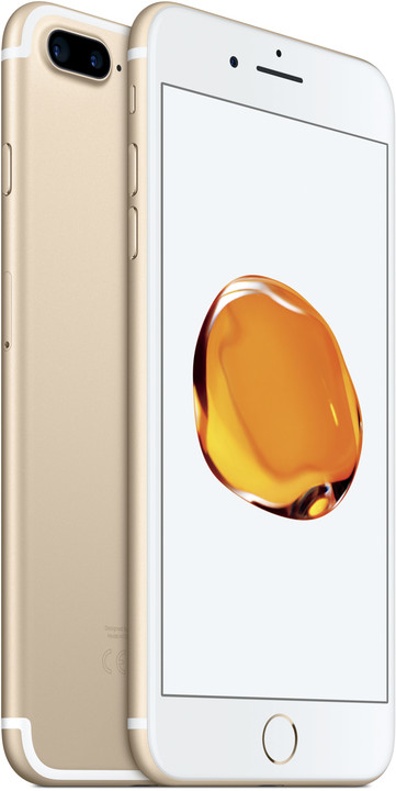 Apple iPhone 7 Plus, 256GB, zlatá