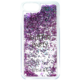 Guess Liquid Glitter Hard Party Purple pouzdro pro iPhone 7