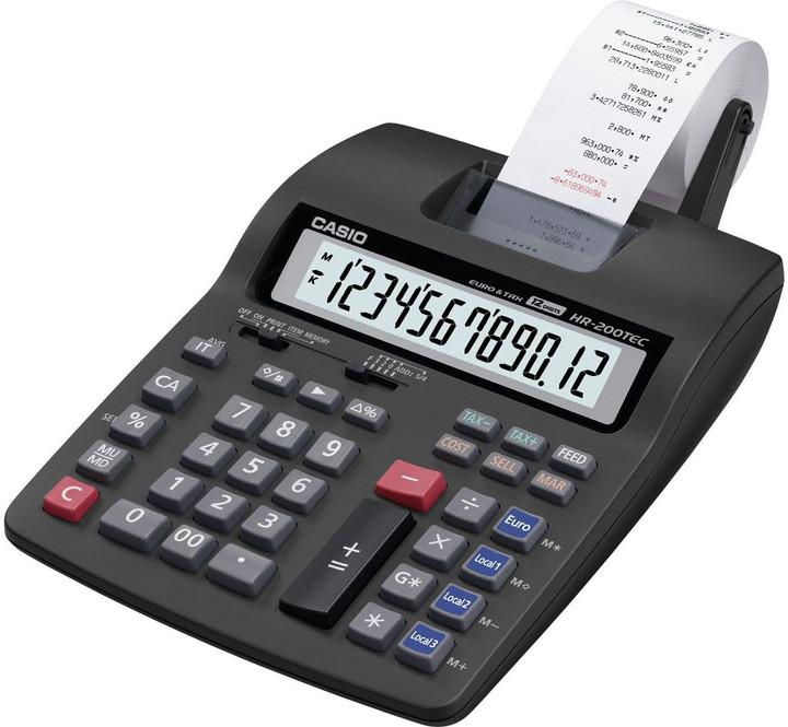 Casio HR 200 TEC