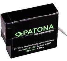 Patona baterie pro videokameru GoPro Hero 5 AABAT-001 1250mAh Li-Ion Premium - PT1268
