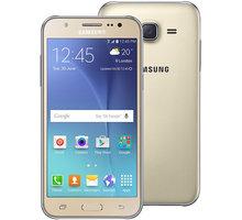 Samsung Galaxy J5, Dual SIM, zlatá - SM-J500FZDDETL + Zdarma SIM karta Relax Mobil s kreditem 250 Kč