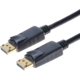 PremiumCord DisplayPort 1.2 přípojný kabel M/M, zlacené konektory, 0,5m