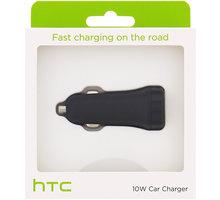 HTC CC C600 Fast USB Autodobíječ 10W/2A (EU Blister) - 27784
