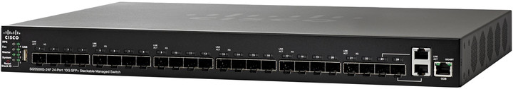 Cisco SG550XG-24F 24-Port 10G SFP+ Managed Switch