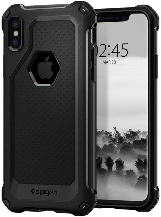 Spigen Rugged Armor Extra iPhone X, black
