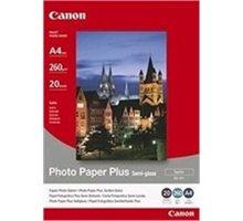 Canon Foto papír SG-201, A4, 20 ks, 260g/m2, pololesklý - 1686B021