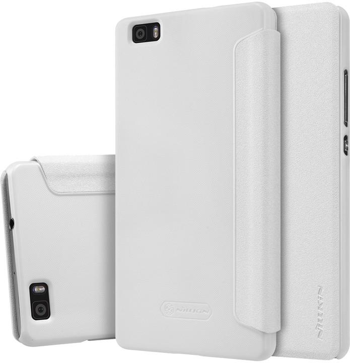 Nillkin Sparkle Folio pouzdro White pro Huawei Ascend P8 Lite