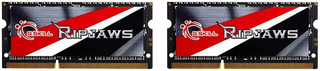 G.SKill Ripjaws 16GB (2x8GB) DDR3 1866 CL10 SO-DIMM
