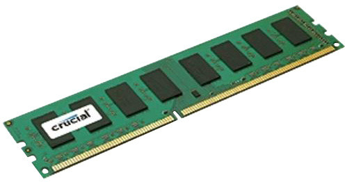Crucial 2GB DDR3L 1600, Dual Voltage Dual Ranked